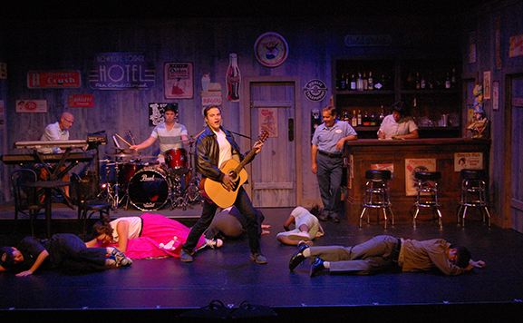 "A scene from ""All Shook Up"""