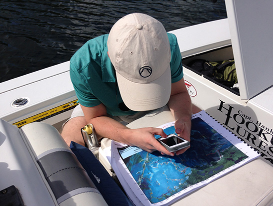 "Researchers use satellite images and ""ground-truthing"" to map the boat paths that are damaging the Florida Bay."