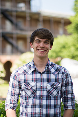 Senior Hudson Kelley will be returning to UA in the fall to pursue a Master of Public Administration degree.