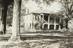 Gorgas House in the 1890s